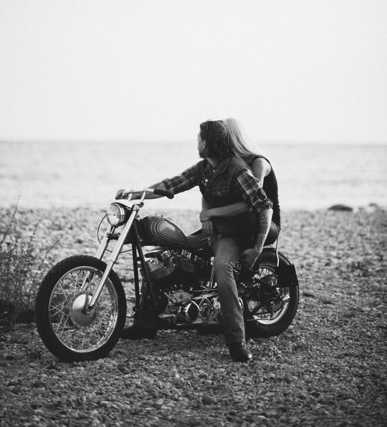 Åka motorcykel på Gotland