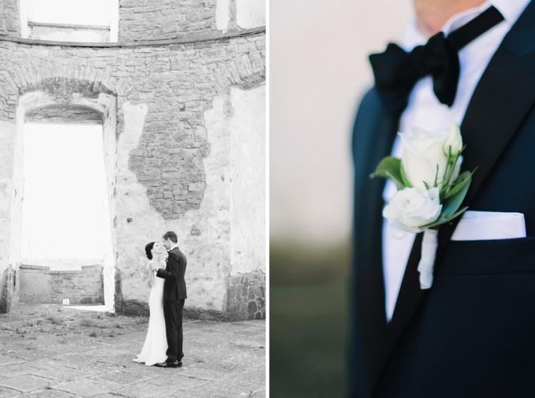 Bröllop Öland Borgholms Slottsruin av Bröllopsfotograf Sara Norrehed