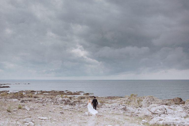 bröllop på gotland, bröllop på gåsemora av sara norrehed photography