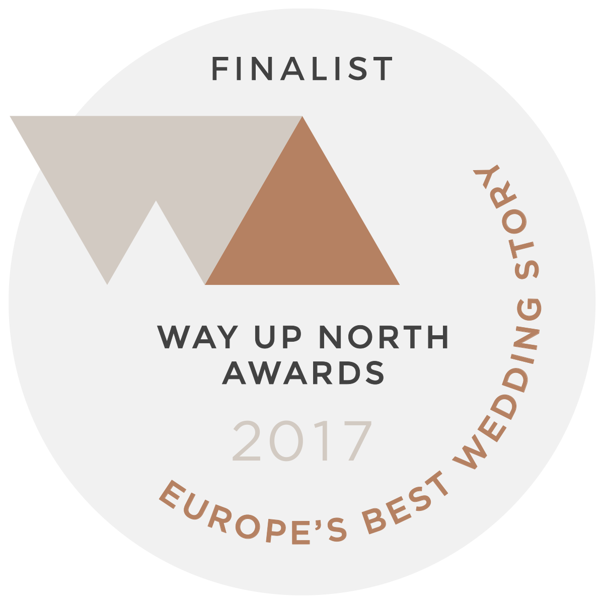 way up north finalist best wedding story